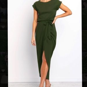 Casual Ankle Length Dress